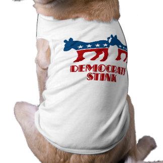 Democrats Stink Dog Clothes
