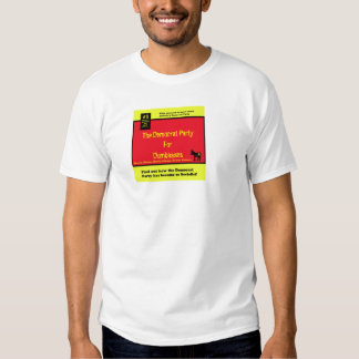 Democratsocialistsfordummies, The Democrat Part... Tshirt