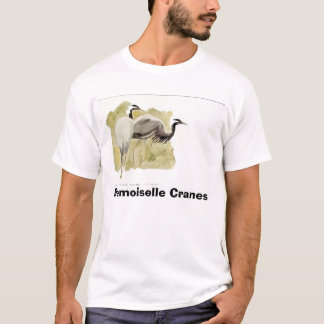 Demoiselle Cranes T-Shirt