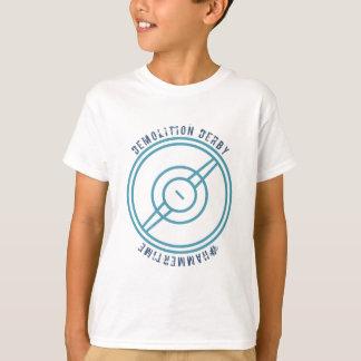 Demolition Derby - Blue Station T-Shirt