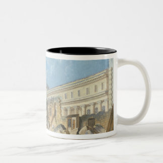 Demolition of the Couvent des Cordeliers, c.1802 Two-Tone Coffee Mug