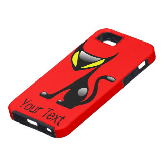 Demon Cat Tough iPhone4 case iPhone 5 Case