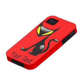 Demon Cat Tough iPhone4 case Case-Mate iPhone 4 Cases