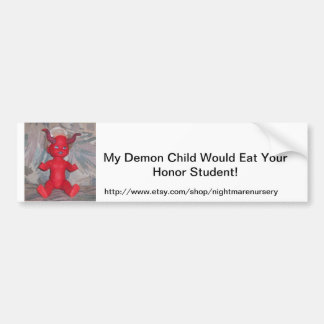 Demon Child Bumper Sticker