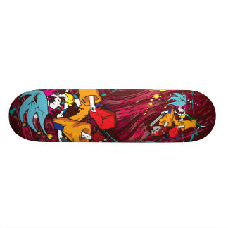 Demon Clown Girl board Skate Board