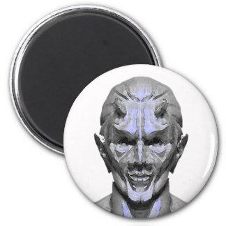 demon designs fridge magnet