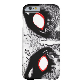 Demon Eyes Airbrush Art Barely There iPhone 6 Case