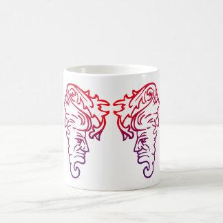 Demon faces demon faces coffee mug