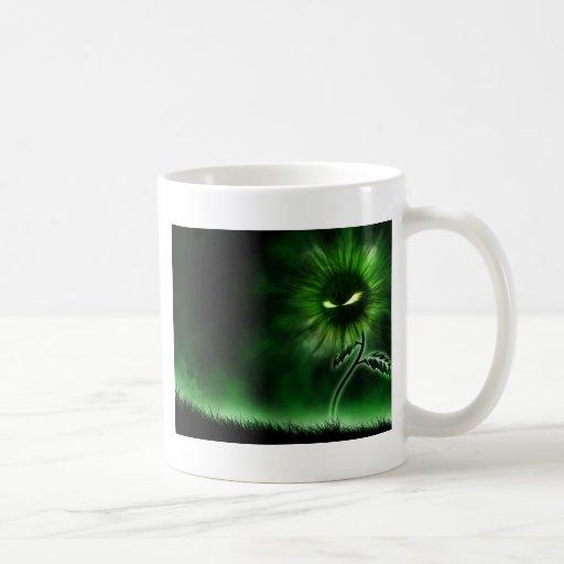 demon flower coffee mugs