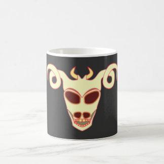 Demon head demon skull coffee mugs