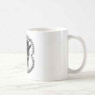 Demon Head Basic White Mug
