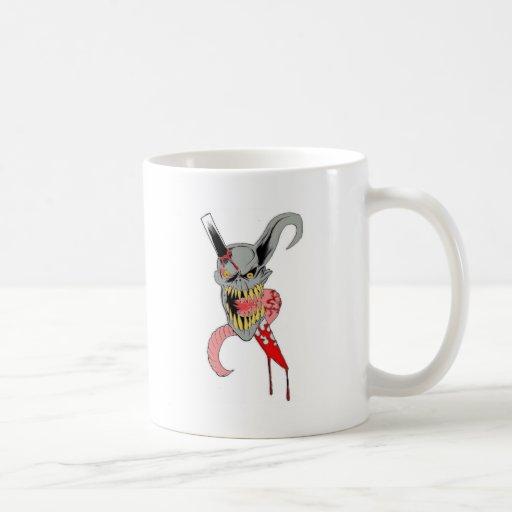 Demon Horror Art Mugs