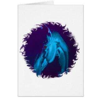 Demon Horse Card