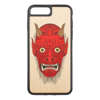 Demon Illustration Carved iPhone 8 Plus/7 Plus Case