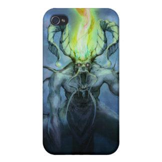 Demon Illustration Case For iPhone 4