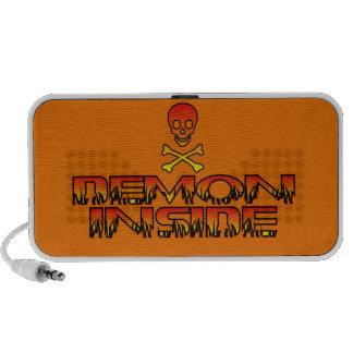 Demon Inside Doodle Speaker-Orange