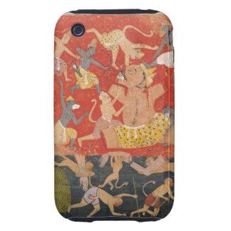 Demon Kumbhakarna Defeated by Rama and Lakshmana Tough iPhone 3 Cases
