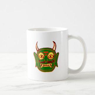 Demon mask demon MASKs Coffee Mug