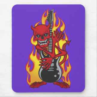 Demon of Rock Mouse Pads