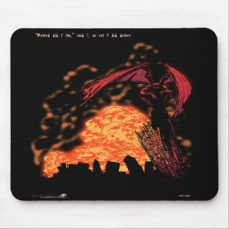 Demon Palindrome Mouse Pad