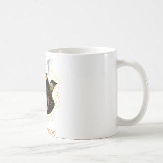 demon samurai coffee mug