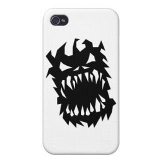 Demon screamin case for iPhone 4