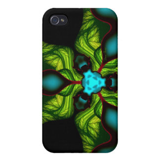 Demon Shadows – Emerald and Yellow Mask Covers For iPhone 4