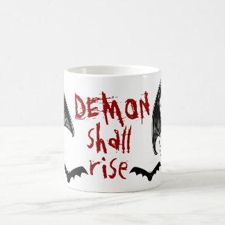 DEMON shall rise Basic White Mug