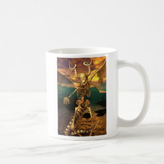 Demon Skeleton Basic White Mug