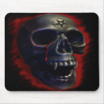 Demon Skull 1 Mousepad