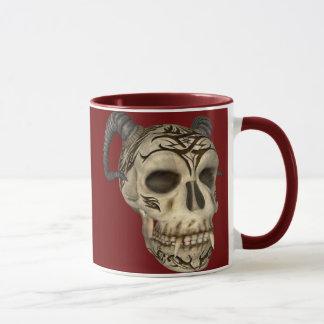Demon Skull Goth Mug