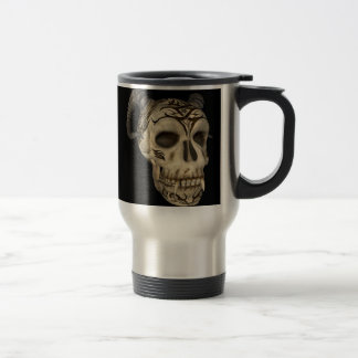 Demon Skull Goth Thermal Mug