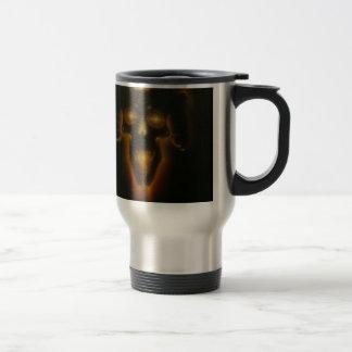 Demon Skull Stainless Steel Travel Mug