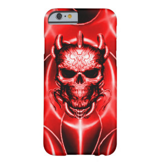 Demon Spectral Skull Barely There iPhone 6 Case