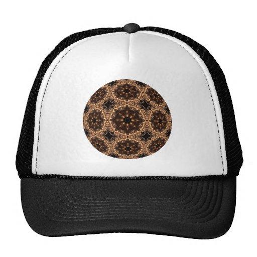 Demon Starburst Kaleidoscope Mandala Trucker Hats