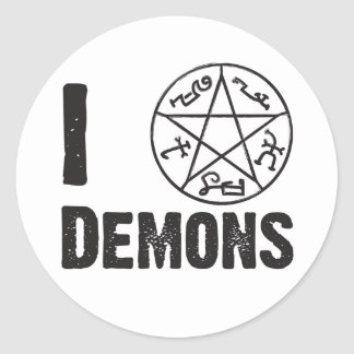 Demon Trap Sticker
