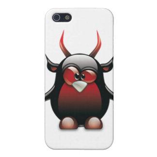 Demon Tux (Linux Tux) Covers For iPhone 5