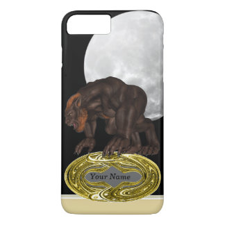 Demon wolf iPhone 7 plus case