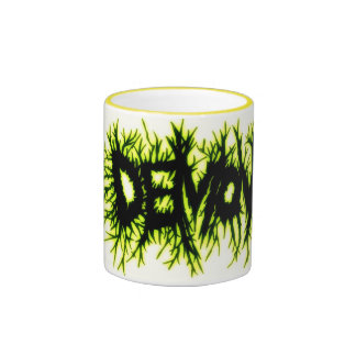 "Demon(Yellow) - ""Mug"" Ringer Mug"