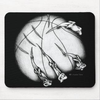 Demonic Basketball Mouse Pads