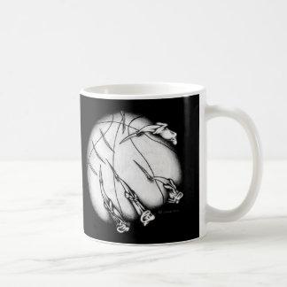 Demonic Basketball Basic White Mug