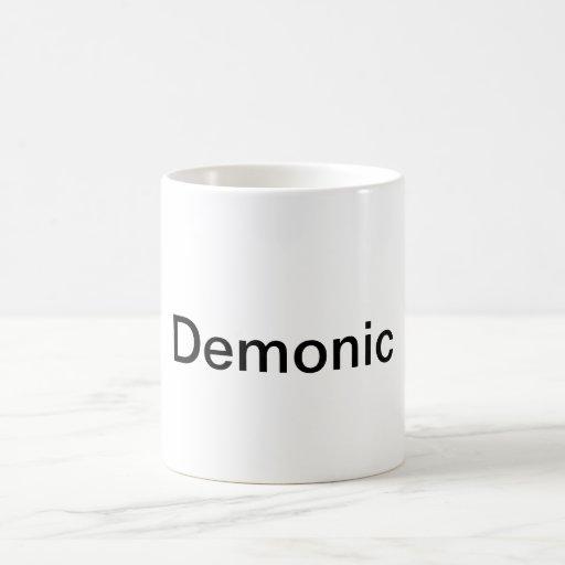 Demonic Coffee Cup Mug