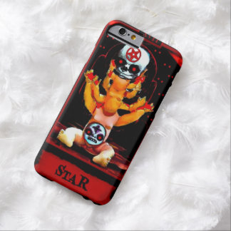 Demonic Doll Star Tarot Card iPhone 6 Case Barely There iPhone 6 Case
