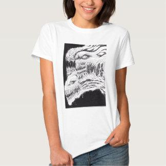 Demonic Horror Illustration Tshirt