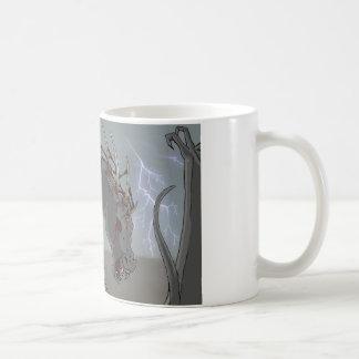 Demonic Horse Basic White Mug