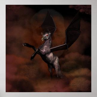 demonic stallion posters