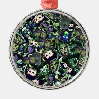Demons and Dolls,haunted dark art original design Christmas Ornament