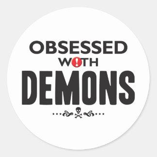 Demons Obsessed Sticker