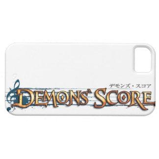 Demons Score iPhone 5 Case
