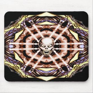 Demonskull Mandala no 2 mousemat
